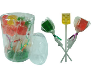 Dice Shaped Lollipop Candy (CWS2659-4)