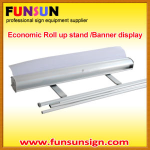 Ecomomic Roll up Stands and Retractable Banner Stand for Display pictures & photos