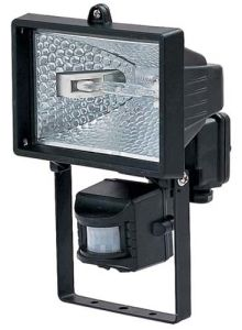 120W Halogen Worklight with PIR Sensor