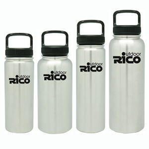 Durable Stainless Steel Vacuum Sports Bottle Silver 22oz pictures & photos