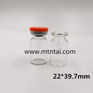 7ml Borosilicate Glass Bottle in Clear Color