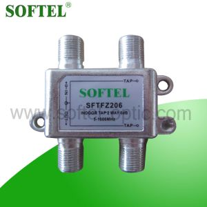 2 Way 5-1000MHz RF Indoor Tap for CATV pictures & photos