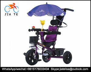 2016 New Model Hot Sale Three Wheel Bicycle Umbrella Tricycle for Children