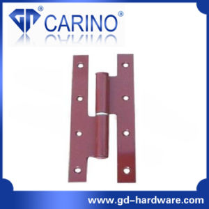 "Flush Hinge 4"" Iron (Flush Hinge With Decorated Head) (HY835) pictures & photos"