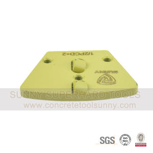 Trapezoid PCD Floor Grinding Shoe Pad Plate Tools for Concrete Terrazzo pictures & photos