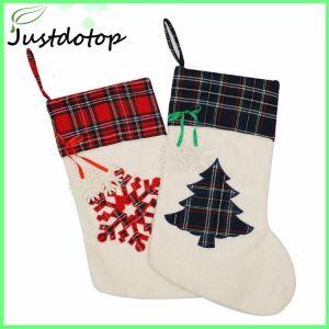 76992c469 China Christmas Santa Stockings Candy Bag for Xmas Tree Decoration ...