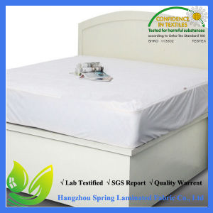 New Queen Size 100% Waterproof Mattress Protector Made in China pictures & photos