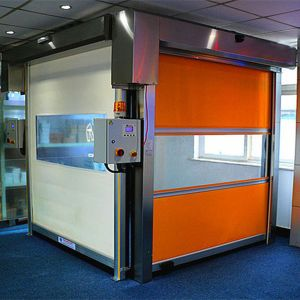 PVC High Speed Rolling Door (HF-J324) pictures & photos