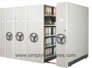 High Density Mobile Shelving Units pictures & photos