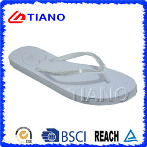 cbfc3fe1f China Hot Selling Summer Ladies White Flip Flops (TNK10019) - China ...