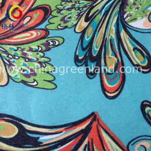 97%Cotton 3%Spandex Printed Twill Imitate Denim Fabric for Shrit (GLLML181) pictures & photos