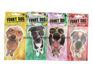 Cute Dog Design Paper Car Air Freshener pictures & photos