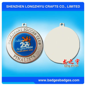 Zinc Alloy Medal Metal Round Medal with Logo Enamel pictures & photos