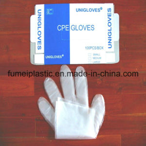 HDPE Transparent Gloves on Box