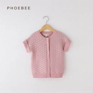 Phoebee Fashion Kids Wear Girls Knitted Clothing for Winter pictures & photos