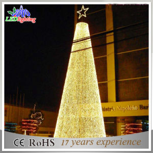 outdoor ball structure design warm white led christmas tree light