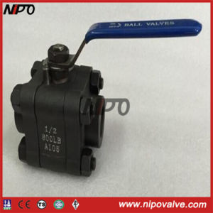 Forged Steel Bw/Sw/NPT Thread Ball Valve pictures & photos