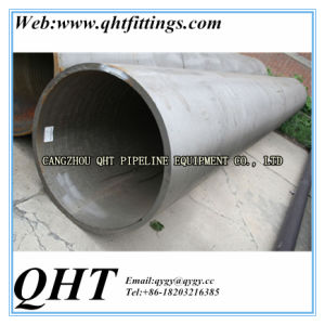 Hot Dipped Galvanized BS1387 Steel Tube on Stock