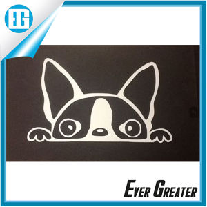 Car Truck Peeking Boston Terrier Vinyl Decal Sticker pictures & photos