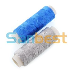 Spun Polyester Sewing Thread on Small Tubes pictures & photos