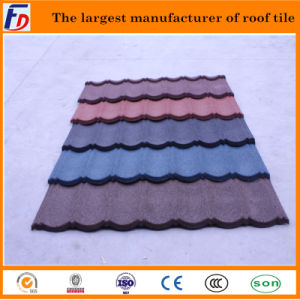 Great Quality Classical Tapes Stone Coated Steel Tile Metal Roof Tile