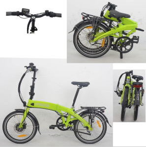 20 Inch 250-500W Folding Electric Bicycle pictures & photos