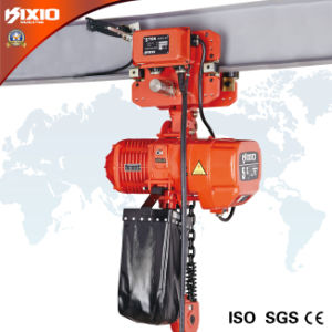 5 Ton Trolley Type Electric Chain Hoist (Overload Limiter) pictures & photos