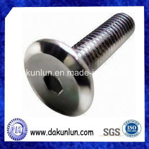 Customized Flat Head Socket Cap Screw with Nickel-Plated