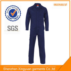 100% Cotton Mens Fireproof Safety Coverall