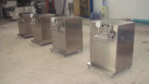 High Pressure 300L/H Ice Cream Homogenizer pictures & photos