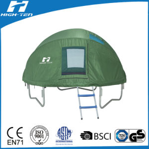 Green Color Trampoline Tent, Full Cover