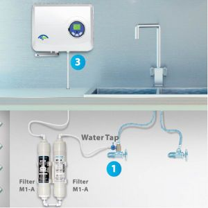 AC 220V 500mg/H Ozone Generator Water Filter Ozone Water Purifier pictures & photos