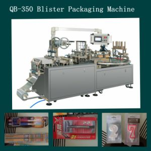 Blister Packing Machine with Paper for Toothbrush/Stationary/Light/Battery