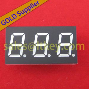 0.3 Inch 3 Digit 7 Segment LED Display pictures & photos