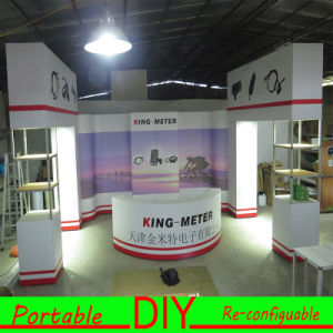 Customed Fabric Aluminum Structure Portable Diplay for Exhibition pictures & photos
