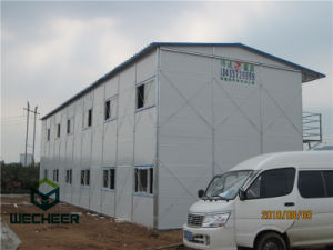 Anti Fire Prefab House for Office/Woker Accormadation on Construction Site