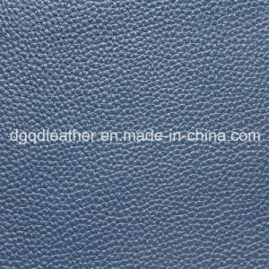 Lichee Grain for Sofa PU Leather (QDL-52016) pictures & photos