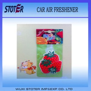 Hanging Promotion Air Freshener for Advertising