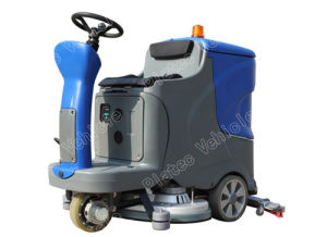 China Electric Cleaning Car, Sweeper, Ride on Tile and Marble ...
