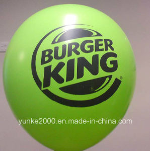 Higher Helium Quality Printed Latex Balloon for Promotion (CB-929)