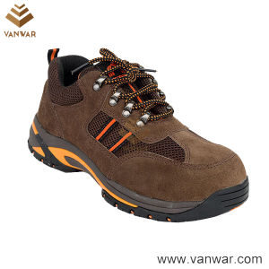 Suede Cow Leather Anti-Slip Military Working Boots (WWB064) pictures & photos