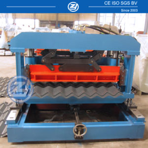 Galvanized PPGI Metal Steel Roof Tile Panel Forming Machine pictures & photos