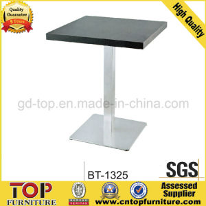 Steel Cafe Restaurant Table (BT-9029) pictures & photos