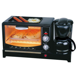 3 in 1 Breakfast Machine with Pan, Coffee and Oven pictures & photos