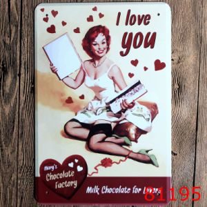 Customized High Quality Vintage Tin Signs by Sign Manufacture