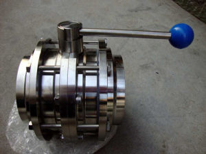 Sanitary Butterfly Valve, Hygiene Butterfly Valve Clamp pictures & photos