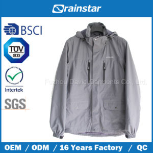 Functional Sports Wear Breathable Jacket with Four Pockets