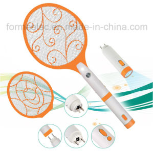 Rechargeable Electric Mosquito Swatter with LED Light & Torch pictures & photos