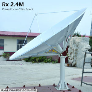 2.4m Rx Only Satellite Antenna