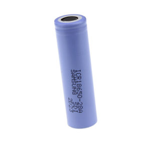 3.8V 2800mAh Rechargeable Lithium Ion Battery 18650 Battery for Flashlight